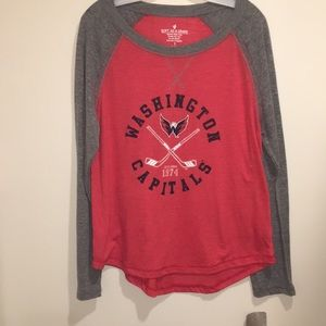 new product a82a3 be16a Women's Capitals Sweatshirt on Poshmark